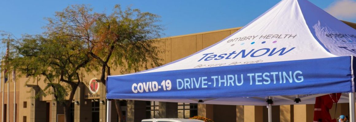 GRAND OPENING — COVID-19 AND ANTIBODY TESTING AT RED MOUNTAIN COMMUNITY CHURCH