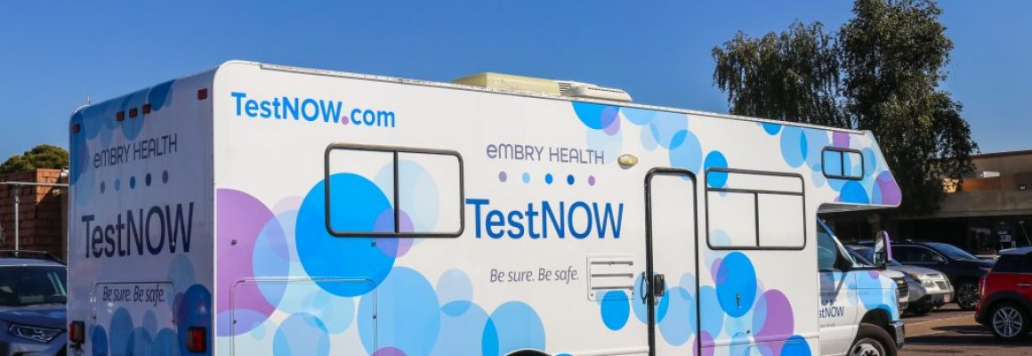 EMBRY HEALTH OPENS SECOND MOBILE TESTING CLINIC IN GRAHAM COUNTY