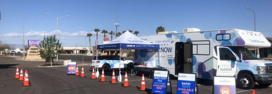EMBRY HEALTH OPENS MOBILE TESTING CLINIC AT VILLA'S MARKET