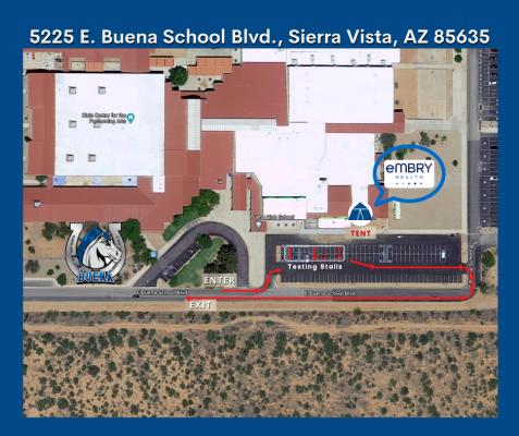 Buena HS Map
