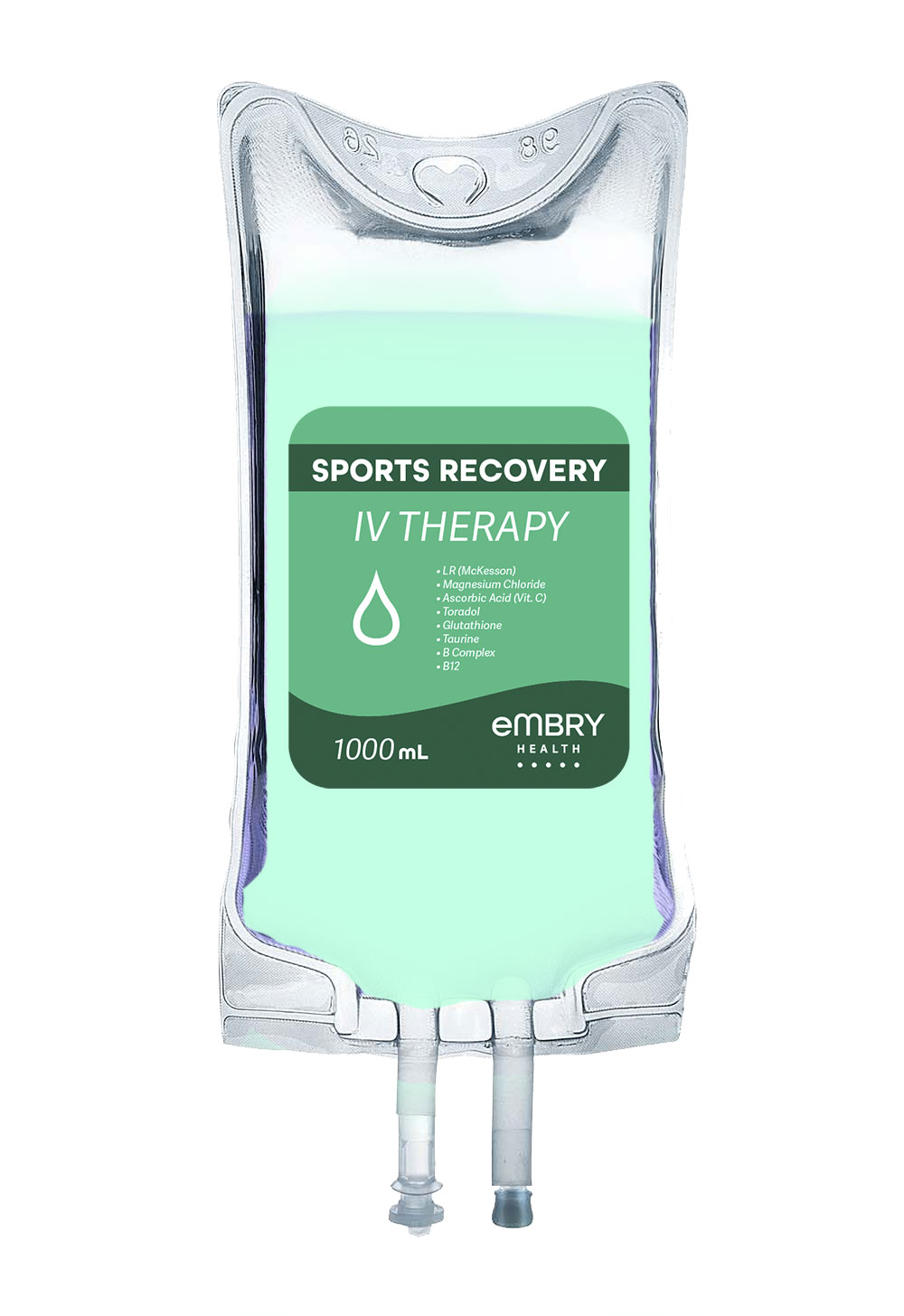 Includes a blend of IV fluids and electrolytes formulated for quick hydration leaving you feeling revitalized and refreshed.